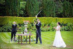 French Wedding Traditions ✈ Sabrage