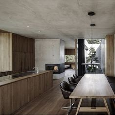 Marte.Marte Architects designs concrete house. ©Marc Lins