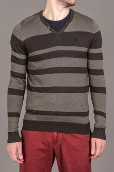 no reindeer sweater ~ by element    Jim will never wear red pants.  a girl can dream though...