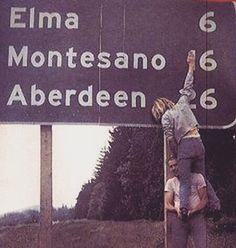 Kurt Cobain & Kris Novoselic