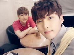 Henry and Ryeowook on Kiss The Radio