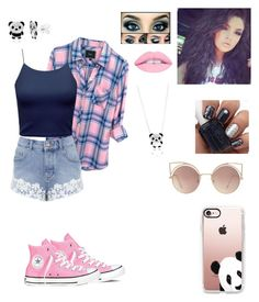 """""""Untitled #305"""" by shaila5853 on Polyvore featuring Rails, Miss Selfridge, Converse, Casetify and MANGO"""