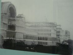 """""""RARE"""" Lantern Slides of the Crystal Palace 1911 Exhibition Building, Exhibition Space, Glass Structure, Forest Hill, Croydon, South London, Crystal Palace, London Photos, Hyde Park"""
