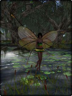 Faeline Fairy Wings - Sayuri (apple)