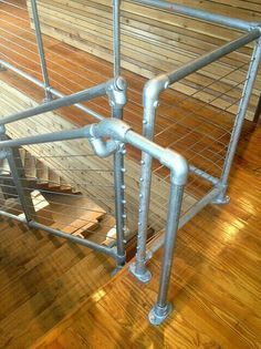 Cable Rail Kee Klamp Pipe Railing By Simplified Building Concepts