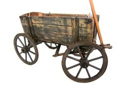 A working antique wagon in great condition with steel wheels. Description from 1stdibs.com. I searched for this on bing.com/images
