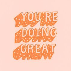 """not my pic :) """"You're doing great"""" #quotes #words #inspiration #motivation #inspo #cute #vsco #peachy #trendy #wallpapers Cute Quotes, Happy Quotes, Words Quotes, Iphone Background Wallpaper, Aesthetic Iphone Wallpaper, Pastel Wallpaper, Positiv Quotes, Summer Vibe, Vie Motivation"""