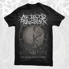 As Blood Runs Black - Solace Shirt Band Merch, Blood, Running, Metal, Mens Tops, Shirts, Clothes, Outfits, Clothing