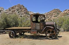 1922 Mack Truck with Chain Drive | Photographed at Keys Ranc… | Flickr