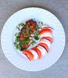 lindastuhaug   Marinert kyllingfilêt med tomat & mozarella - lindastuhaug