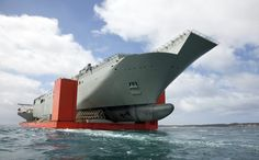 MV Blue Marlin arrives in Port Phillip Bay with NUSHIP Canberra (Photo: BAE Systems)