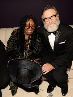 Robin Williams et Whoopi Goldberg 2011
