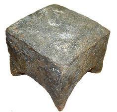 National Museum of Transylvanian History. 2 century AD. Anvil. Weight - 50 kg.