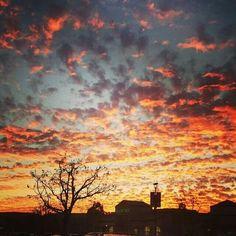 Beautiful sunset in Murrieta