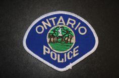 Ontario Police Patch, San Bernardino County, California (Vintage Pre-2013 - 2nd Issue)