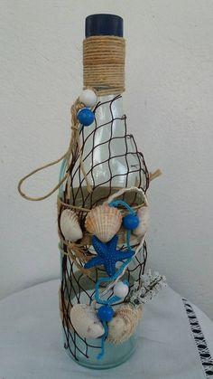 Φυγαμε για μπανιο στα καταγαλανα νερα της θαλασσας μας παρεα με διχτυ,αστεριες και κοχυλια!Ακομα μια Εμπνευση της σελιδας μας!!