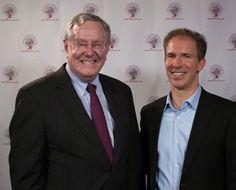 Steve Forbes and David Jensen