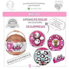 Alguém querendo LOL por ai??? Na Moms Place tem!!! As bonequinhas que encantam a todos!!! Complete sua coleção e peça já a sua!!! R$ 95000 - Frete GRÁTIS  #lolsurprise #lolsurprisedolls #biglol #bigsuprise #loldolls #importados #original #prontaentrega #recebaemcasa #lolserie3 #lolsister #lolpet #lolgliter #importadoslondrina #momsplaceimportados