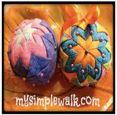 Tutorial: Christmas ornament balls
