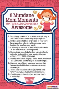 8 Mundane Mom Moments That Are Also Completely Awesome! Being a mom is all about unexpected moments! #beingamom #motherhood #lifewithkids