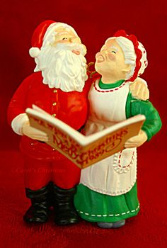 Holiday Duet 1989 Mr & Mrs Claus Santa Hallmark Christmas Ornament. Click on the image for more information.