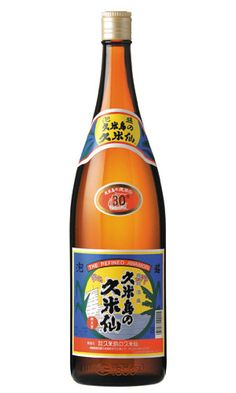 """""""Kumesen"""" -spirits (30%) from Kume island, Okinawa, Japan."""