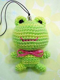 another Melissa project Crochet Frog, Love Crochet, Crochet Patterns Amigurumi, Crochet Gifts, Knit Crochet, Knitted Dolls, Crochet Dolls, Frog Crafts, Crochet Animals