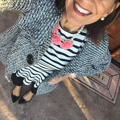 """It's Monday Day 9 of my #February #SweetHeartWeekStyle #StyleChallenge: Headed into the office today for an executive presentation, so i'm a bit…"""