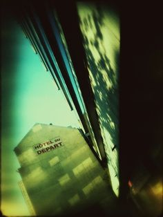 """""""Hotel Du Départ"""", shot and processed on iPhone via Plastic Bullet. Mobile Photography, Northern Lights, Bullet, Shots, Plastic, Paris, Iphone, Nature, Travel"""