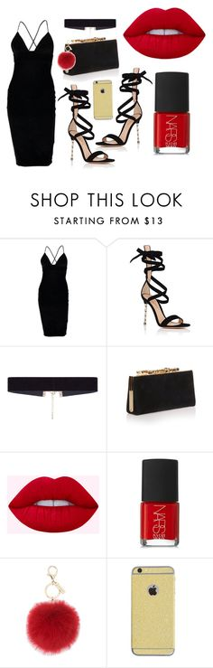 Date night 2 by micap176 on Polyvore featuring mode, Boohoo, Gianvito Rossi, Jimmy Choo, 8 Other Reasons, L.K.Bennett and NARS Cosmetics