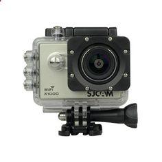 SJCAM X1000 WIFI Action Sports Camera Helmet Camcorder Bike/Moto Riding Recorder DV Video Car DVR Silver (Intl)