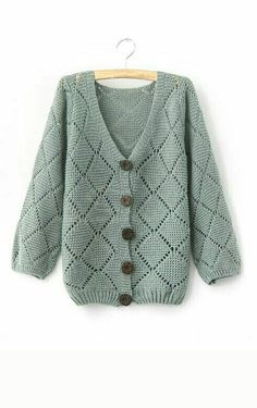 Wear a lace cardigan today! See how a lace cardigan can give your added appeal right here. The Cardigans, Sweaters For Women, Mode Pop, How To Purl Knit, Knitting Designs, Knit Cardigan, Baby Knitting, Knitwear, Knitting Patterns