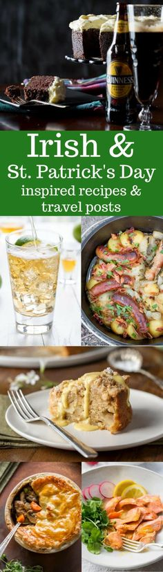 Irish Recipes & Travel Posts ~ A wonderful roundup of delicious Irish recipes, Travel Posts and St. Patrick's Day inspired fun!  www.savingdessert.com