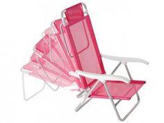 Cadeira Reclinável Sol de Verão 6 Posições - Mor 2118 com as melhores condições você encontra no Magazine Raimundogarcia. Confira!