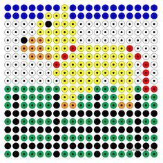 Hond Kleutergroep Pet Theme, Class Pet, Beading Patterns, Pixel Art, Preschool, Pets, Animals, Dotted Drawings, Mosaics