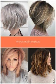 10 Stylish Medium Bob Hairstyles #medium bob