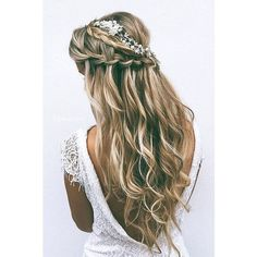 40 Most Delightful Prom Updos for Long Hair in 2016 ❤ liked on Polyvore featuring hair