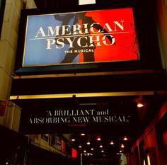 Broadway's new thriller.