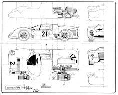 Ferrari 330P4 (1967)   SMCars.Net - Car Blueprints Forum