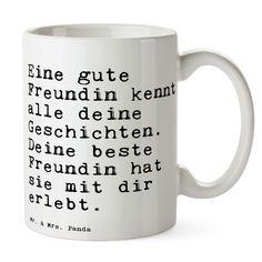 Tasse Text aus Keramik Weiß Das Original von Mr. & Mrs