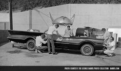Building The Batmobile. This car started as the '55 Lincoln Futura concept car.