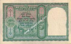 British India Bank Notes - Si no 340530