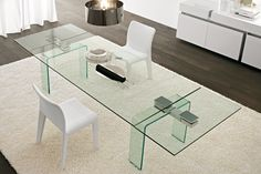 Azimut Extensible Table, Contemporary Dining Room Design at Cassoni.com
