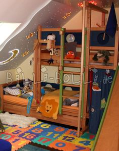 Bunk Bed Laterally Staggered (Image 3)