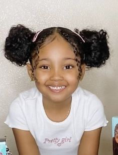 Mixed Kids Hairstyles, Girls Natural Hairstyles, Baby Girl Hairstyles, School Hairstyles, Prom Hairstyles, Easy Hairstyles, Toddler Hairstyles, Little Mix Girls, Cute Little Girls Outfits