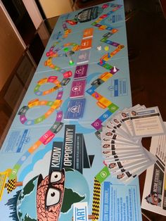 PROTOTYPE GAME - You will receive a full prototype game set