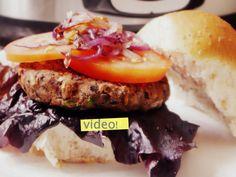 Hamburguesas de porotos negros: unas hamburguesas vegetarianas