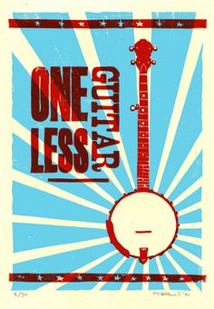 One Less Guitar: Banjo Banjo, Guitar, Musicals, Movie Posters, Movies, Films, Film, Movie, Movie Quotes
