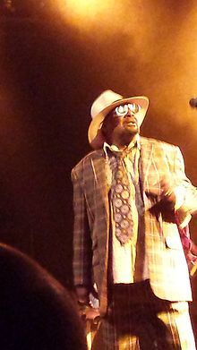 George Clinton (born July 22, 1941) is an American singer, songwriter, bandleader, and music producer. He was the principal architect of P-Funk, the mastermind of the bands Parliament and Funkadelic during the 1970s and early 1980s... Born is Kannapolis, NC