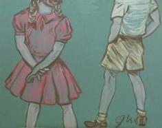 Shy Boy & Girl